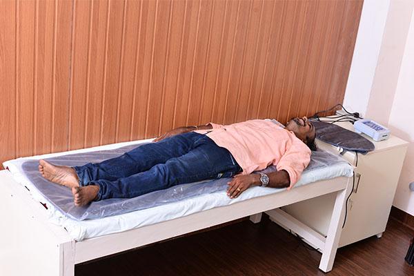 Arthritis Patient using QRS Mat