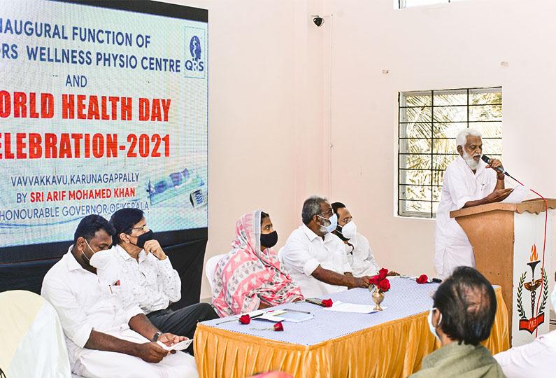 Felicitation Speech by Adv K P Mohammad, Community Leader