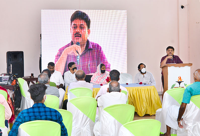 Vote of Thanks by Sri S Shafeek, Principal, AM College of Pharmacy