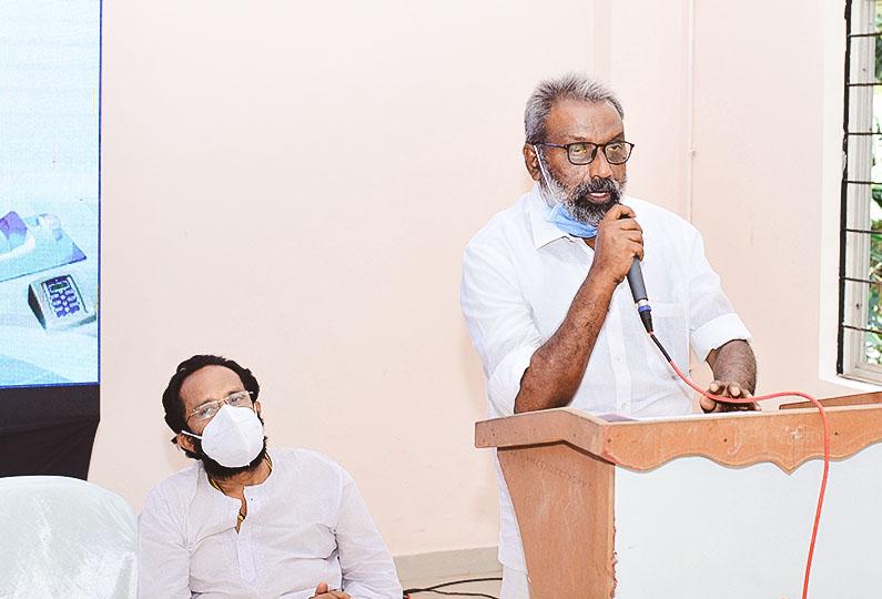 Felicitation Speech by Nazar Kattumpurath, Vice President, KS Puram Panchayat